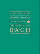 Thematic Catalogue of the Works of Carl Philipp Emanuel Bach